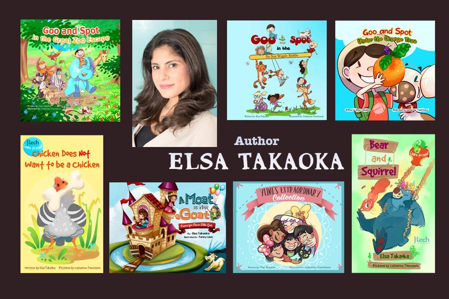 Author Elsa Takaoka
